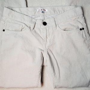 CAbi Jeans - Women's - CAbi Brando Cream Corduroy Jeans, Size 2